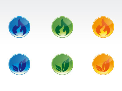 Glossy Buttons free vector download
